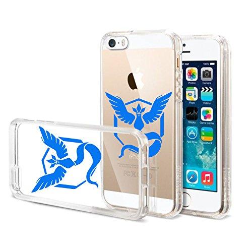 Transparente-Silicon-Case-Funda-TPU-Silicona-Funda-BUMPER-Case-Funda-para-iPhone-5S-Equipos-de-Pokemon-Go