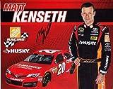 2013 Matt Kenseth #20 Husky Racing Team (Gibbs) 8X10 NASCAR Hero Card *AUTOGRAPHED*