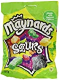 Maynards Sours Bag 190 g (Pack of 6)