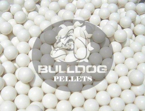 2000 Airsoft BB Pellets 6mm .20g Genuine Bulldog Pro High-Grade Polished BB's White