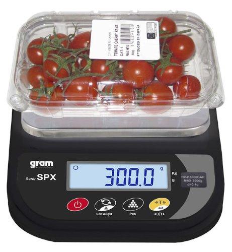 Balance de cuisine compacte 6000g x 1g