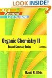 Organic Chemistry II as a Second Language: Second Semester Topics