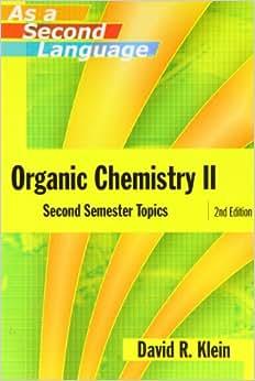 Klein 2nd edition organic chemistry pdf