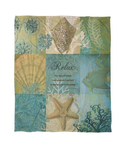 Seashell Throw Blanket front-1035313