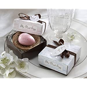 wedding reception decoration ideas, egg nest soap