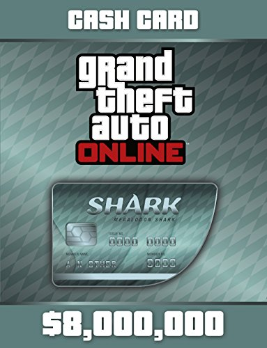 Grand Theft Auto Online: Megalodon Shark Cash Card (GTAマネー $8,000,000) 【Windows版】 [オンラインコード]