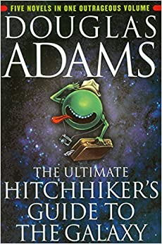 the ultimate hitchhiker 39 s guide to the galaxy douglas adams 9780345453747 books. Black Bedroom Furniture Sets. Home Design Ideas