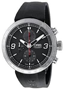 Oris Men's 01 674 7659 4163 07 4 25 06 TT1 Chrono Grey Dial Watch