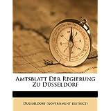 Amtsblatt Der Regierung Zu D Sseldorf