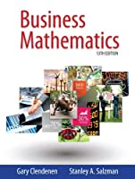 Business Mathematics, 13th Global Edition Front Cover