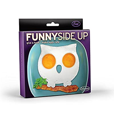 Funny Side Up Shaped Egg Mold Novelty Egg Ring