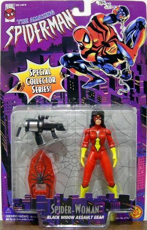 Spider-Man: The Animated Series Spider-Woman Action Figure