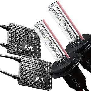 GTX HIDキット 本物55W HB4 6000K AIRシリーズ 超極薄10mm 瞬間起動 完全防水 3年保証