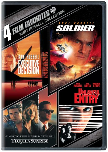 Cover art for  4 Film Favorites Kurt Russell (Soldier/Tequila Sunrise/Executive Decision/Unlawful Entry)