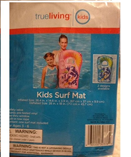 Trueliving Kids Pink Surf Mat - 1