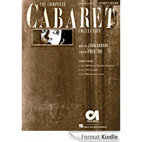 The Complete Cabaret Collection Songbook: Vocal Selections - Souvenir Edition