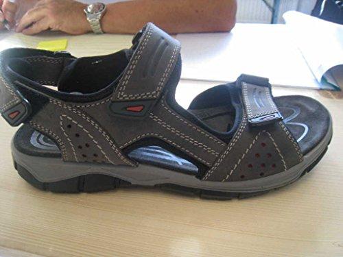 Imac 51490, Sandali uomo, Grigio (grigio), 45