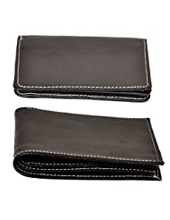 The Runner Combo Of Leather Wallet + Leather Card Holder