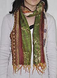 Designer Kantha Decorative Womens Stoles And Scarves