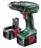 Bosch PSR 14.4 Cordless 14.4 Volt Drill/Driver, 2 x NiCD Batteries