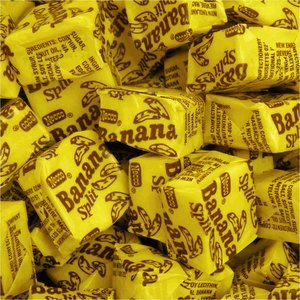 Necco Banana Split Candy Chews 2lb Bag (Banana Split Candy compare prices)
