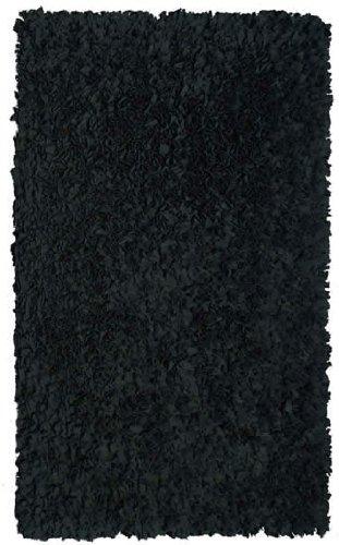 The Rug Market SHAGGY RAGGY BLACK BLACK 4.7X7.7