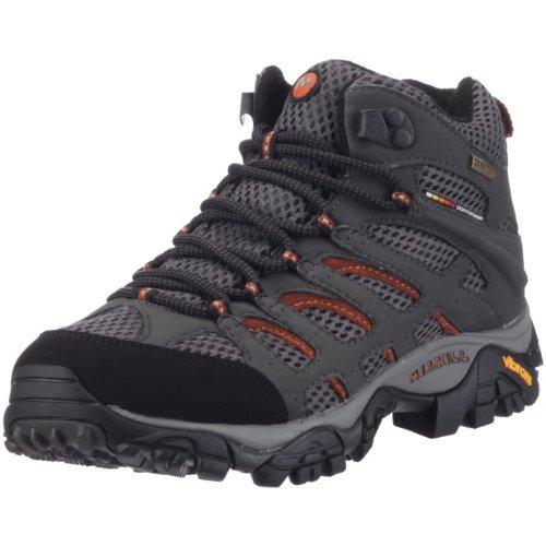 Merrell Moab Mid Gore-Tex Hiking Boots - Women's (Beluga, W: US 7.5 / UK 5 / EU 38)