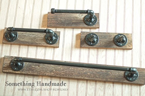 Industrial Barn Wood Bathroom Set rustic 1892 reclaimed barn wood 18