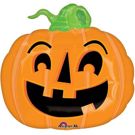 "Happy Pumpkin 23"" Mylar Balloon"