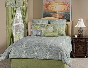 Victor Mill Island Song Surf Comforter Set, King