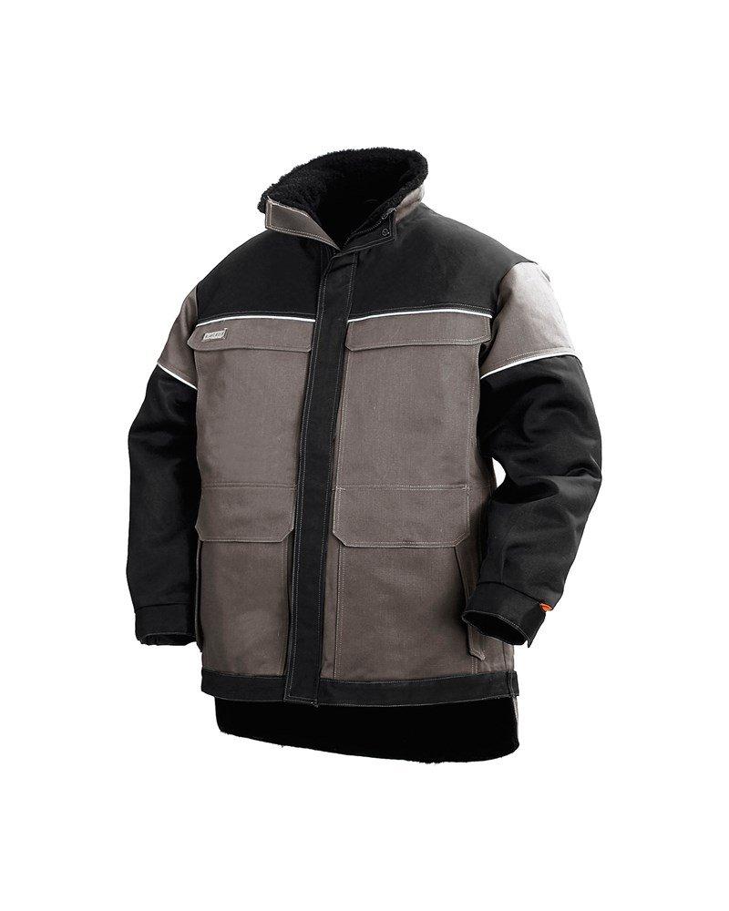 Blakläder Winter Jacke Flammschutz Grau/Schwarz, 487415079499, Gr. L