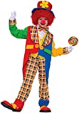 Forum Novelties Clown On The Town Costume, Medium