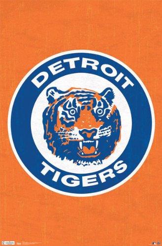 Detroit Tigers Retro Logo - MLB 22
