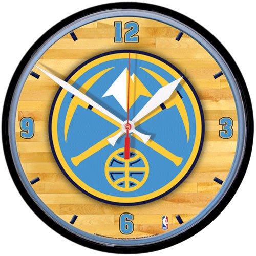 NBA Denver Nuggets 12'' Round Wall Clock