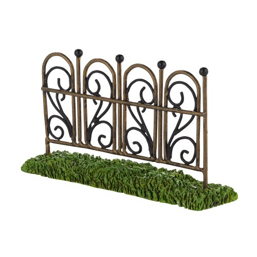 Department 56 Decorative Accessories for Village Collections, My Garden Fence General Accessory, 1.18-Inch