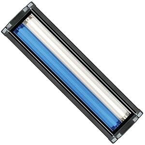 WavePoint 24-Inch 48-Watt 2 Bulb High Output T-5 Lighting System,Black