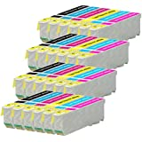 4 Compatible Set of 6 XL Printer Ink Cartridges to replace T2438 / 24XL Series (24 Inks) for use with Epson Expression Photo XP-55, XP-750, XP-760, XP-850, XP-860, XP-950