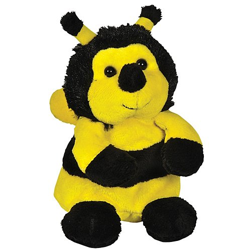 Plush Bumblebee Beanie Bean Filled Plush Stuffed Animal - 1