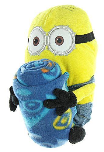 Despicable-Me-Minion-Pillow-Hugger-And-Throw-Blanket-40-x-50