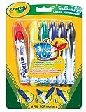 Binney & Smith Crayola 83325 Flip Top Marker - Rotuladores (6 unidades)
