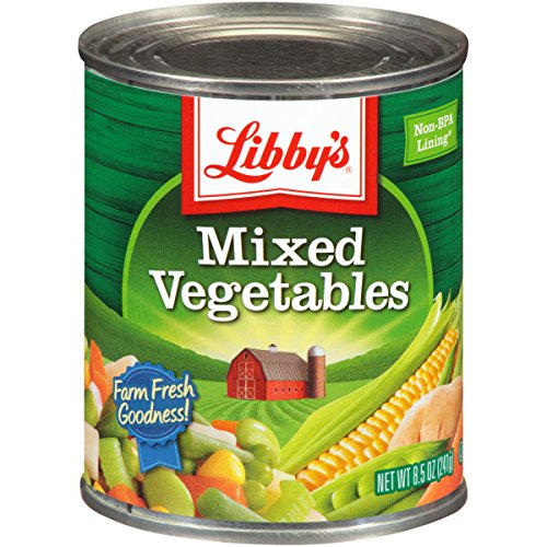 Libby's Mixed Vegetables, 8 Pound (Pack of 12) (Canned Mixed Vegetables compare prices)