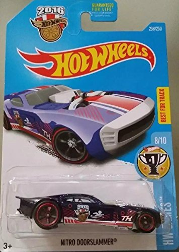 2016 Hot Wheels Super Treasure Hunt Hw Games - Nitro Doorslammer