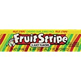 Sathers Farley Fruit Stripe Gum Jumbo Pack, 17-Count (Pack of 12)