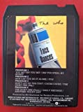 WHO Face Dances 8 Track tape