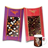 Chocholik Belgium Chocolate Gifts - Nutty And Fiery Combo Of Chocolate Bars With Diwali Special Coffee Mug - Diwali...