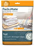 Packmate ® 2 Jumbo Flat Vacuum Compressed Storage Bags (90 x 110cm) For Clothing, Kingsize Duvets, Bedding & More