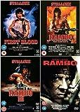 Rambo Complete DVD Collection: First Blood / Rambo 2 / Rambo 3 / Rambo 4 + Extras