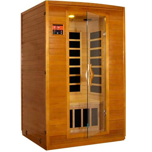 LifeSmart 9202 Two Person Sauna with Carbon Heaters