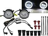 CrazyTheGod CHANGHE-SUZUKI ALTO 2008-present DRL LED GLASS Fog Light Lamp for SUZUKI