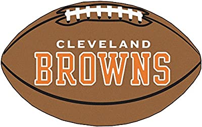 Fanmats Cleveland Browns Team Football Mat